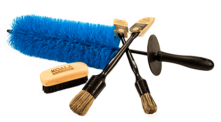 Accessories to wash the car - Detailing Brushes Koala Car Care